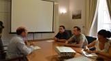 El encuentro entre el Alcalde de Montilla y varios hosteleros se cierra con el entendimiento por parte de los empresarios sobre el cumplimiento de la normativa en las terrazas