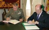 El Ministerio de Defensa y el Ayuntamiento de Montilla renuevan el convenio para difundir y dar a conocer la figura del Gran Capitán